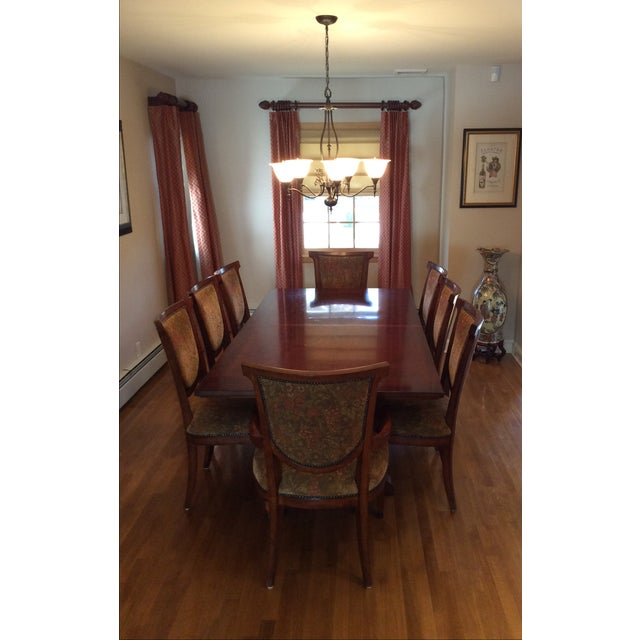 Bernhardt Dining Table and 8 Chairs - Image 6 of 8