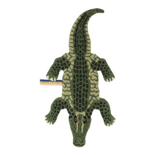 Doing Goods Coolio Crocodile Rug Small For Sale
