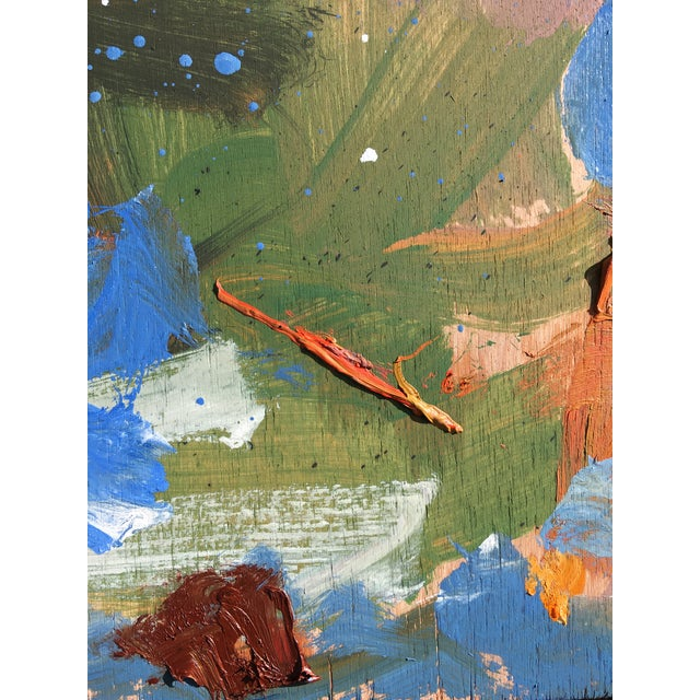 2020s 'Standoff' Abstract Oil Painting by Sean Kratzert For Sale - Image 5 of 7