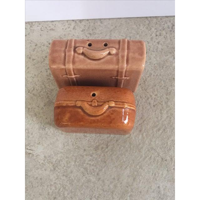 Vintage Suitcase Salt & Pepper Shakers - Image 5 of 6