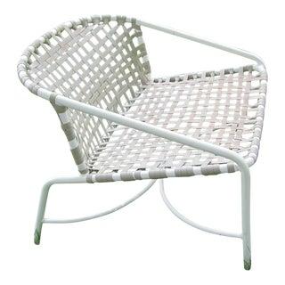 Vintage Brown & Jordan Patio Lounge Chair Kantan Model For Sale