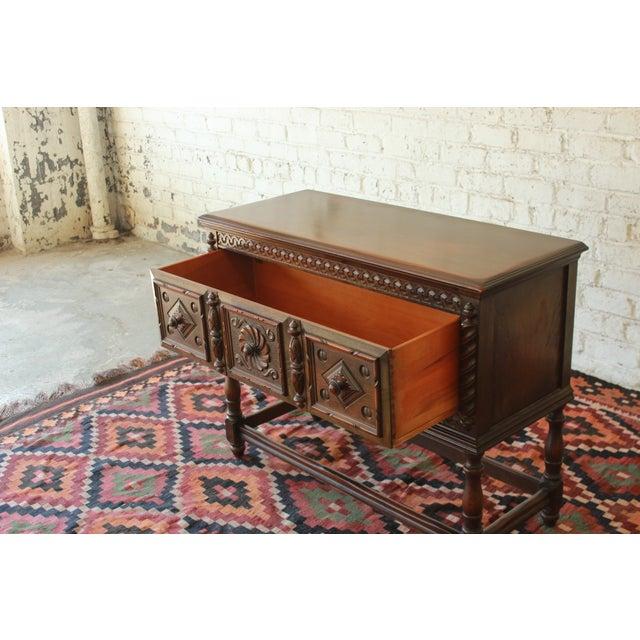 Limbert Furniture Co. Elizabethan-Style Sideboard - Image 6 of 9