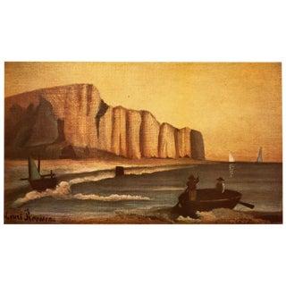 1951 Henri Rousseau, Original La Falaise Photogravure For Sale