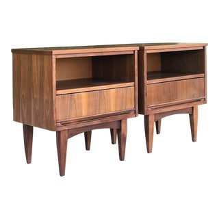 Pair of Mid Century Minimalist Nightstands