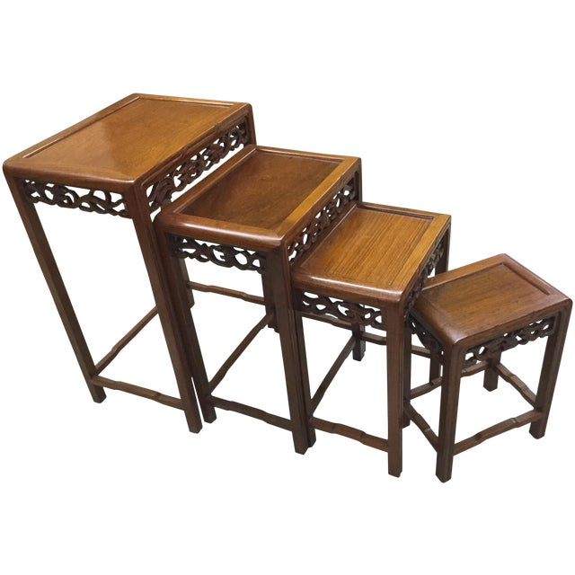George Zee Hong Kong Nesting Tables - Set of 4 - Image 1 of 5