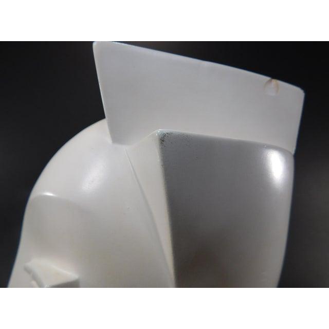Lindsey Balkweill 1984 Vintage Sculptural Plaster Head - Image 11 of 11