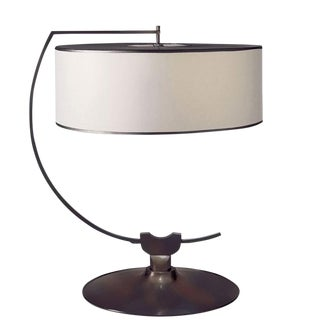Transitional Visual Comfort Thomas O'Brien Academy Bronze Table Lamp For Sale