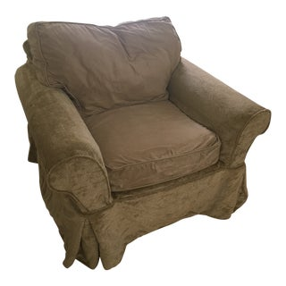 Pottery Barn Basic Slipcover Chair