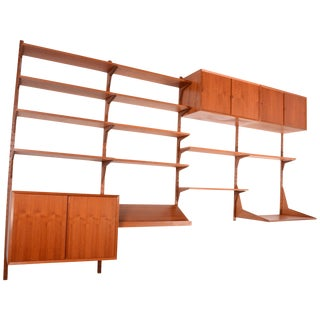 Poul Cadovius Cado Royal Wall Unit in Teak For Sale