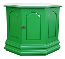 Image of Bottle Green Accent Tables