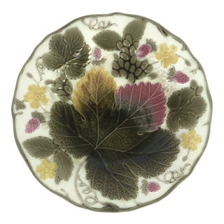 Wedgwood Majolica Plate For Sale