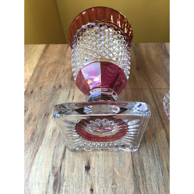 Late 20th Century Westmoreland Glass English Hobnail Large Candy Dish For Sale - Image 5 of 8