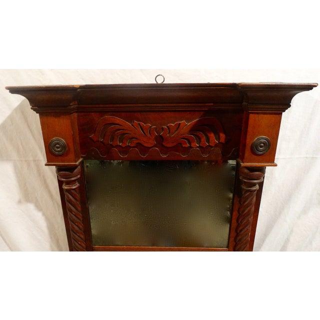 Antique American Federal Mahogany Mirror - Image 3 of 3