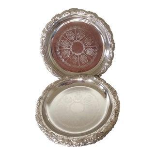 Italian Silver Coasters, Set of 7