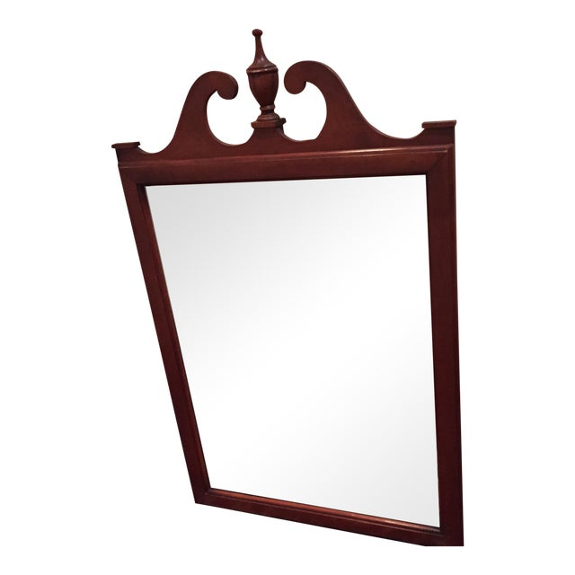 Vintage Wooden Mirror - Image 1 of 4