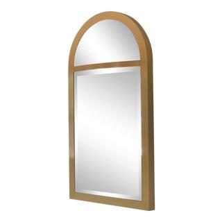 Vintage Karl Springer Lacquer Frame Mirror For Sale