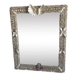 Vintage Shell Wall Mirror