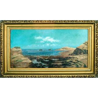 Northern California Tidal Pools Painting