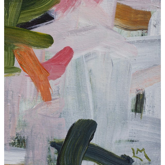 """2010s Laurie MacMillan """"Way to Go"""" Abstract Painting For Sale - Image 5 of 6"""