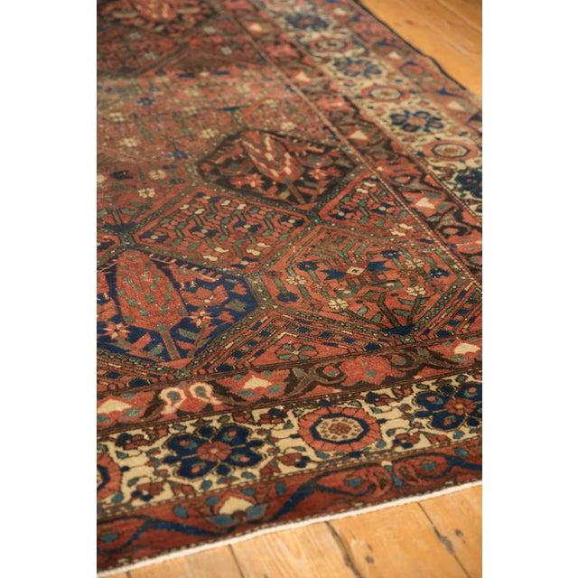 """Vintage Baktiari Carpet - 7'1"""" X 9'11"""" For Sale - Image 11 of 12"""