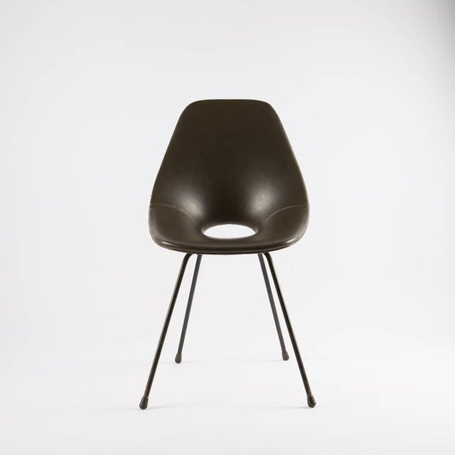 "Modern Rare ""Medea"" Chair by Vittorio Nobili for Tagliabue For Sale - Image 3 of 9"
