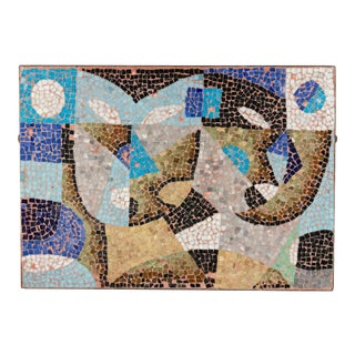 Italian Post-War Mosaic Wall Plaque