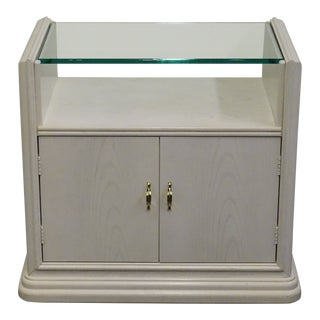 20th Century Contemporary Thomasville Furniture Fascination Cabinet Nightstand For Sale