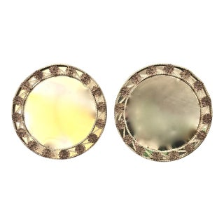 Murano Mirrors - A Pair For Sale