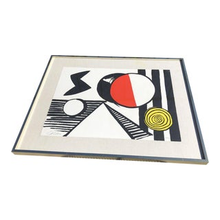 Alexander Calder Signed Lithograph
