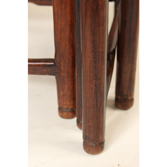 1930s Chinese Nesting Tables - Set of 3 For Sale - Image 11 of 13