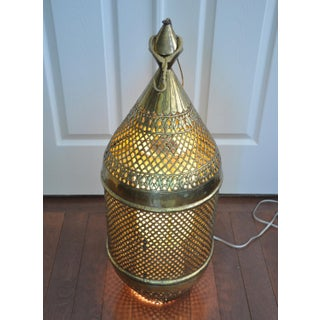 Large Antique Moroccan Brass Lantern Preview