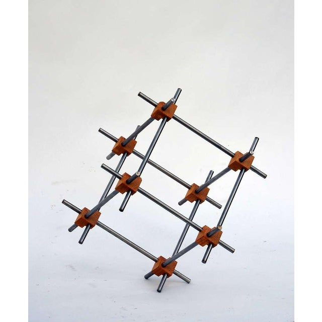 2010s Geometric Abstract Sculpture by Alex Andre For Sale - Image 5 of 7
