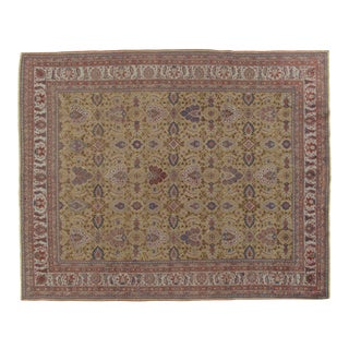 Early 20th Century Antique Persian Sultanabad Rug-7'8x9'9 For Sale