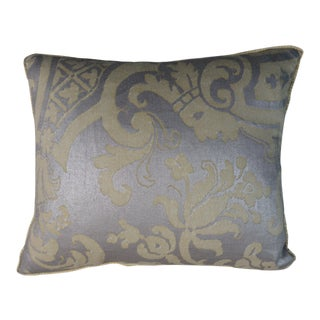 Pair of Carnevalet Patterned Fortuny Pillows