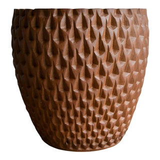 Phoenix-1 Stoneware Planter by David Cressey for Architectural Pottery, 1977 For Sale