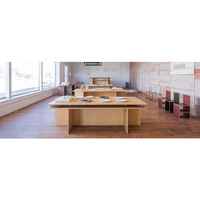 Inspired by Donald Judd's Architecture Desk; these custom-built desks were built by a New York-based design and...