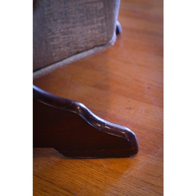 Excellent Antique 1930S Swan Arm Gooseneck Rocking Chair Ibusinesslaw Wood Chair Design Ideas Ibusinesslaworg