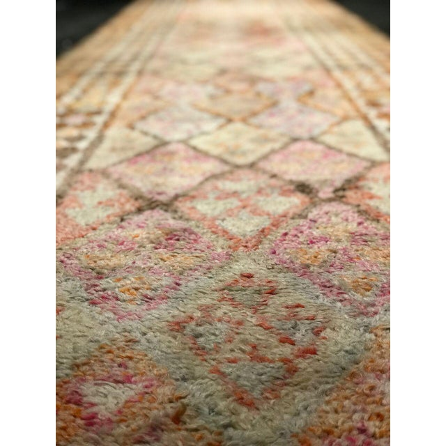 "Traditional Bellwether Rugs Vintage Oushak Long Runner ""Nazanin"" Rug - 17' X 3'1"" For Sale - Image 3 of 6"