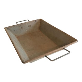 Antique Handmade Baking Tray For Sale