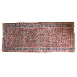 Antique Persian Bakshaish Rug - 5' X 13' For Sale