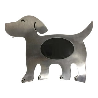 Polished Aluminum Dog Frame For Sale