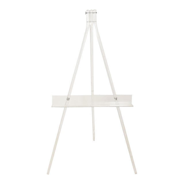 Mid-Century Modern Lucite Easel For Sale