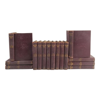 The Plays and Poems of Shakespeare - Set of 15 Books For Sale