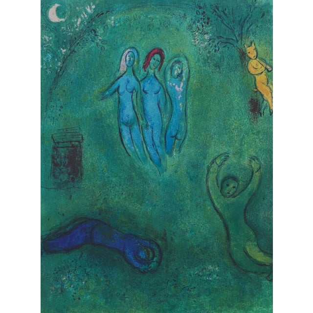 """1977 """"Daphnis Dream and the Nymphs, Daphnis & Chloe"""" Limited Edition, Marc Chagall For Sale"""