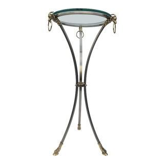 1960s Mid-Century Modern Maison Jansen Pedestal Table For Sale