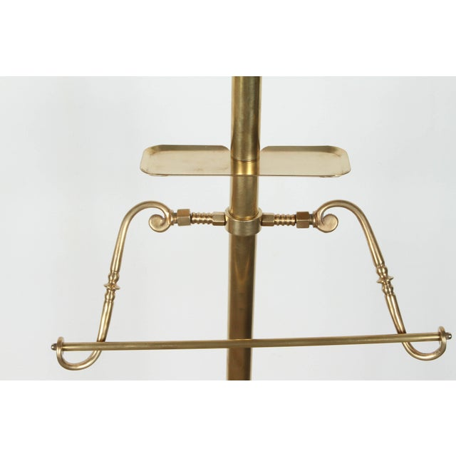 Early 20th Century Italian Gentleman Brass Valet For Sale - Image 5 of 13