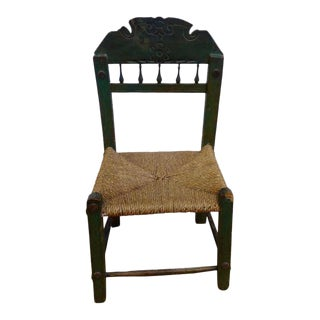 Antique Mexican Colonial Chair