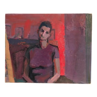 Abstract Figurative Oil Painting For Sale