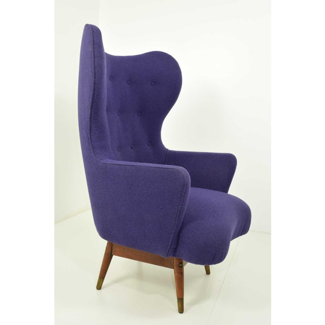 1960s Mid-Century Danish Lounge Chair For Sale - Image 5 of 9