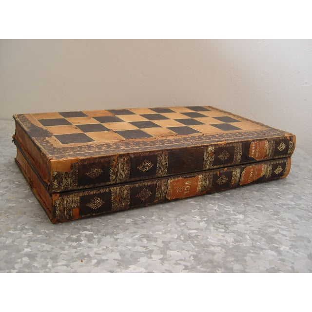 Backgammon Chess Board Book Box - Image 2 of 8